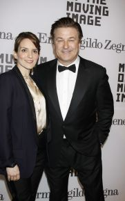 Tina Fey and Alec Baldwin Pay tribute the Tracy Morgan By wearing the Black Tuxedo Suit